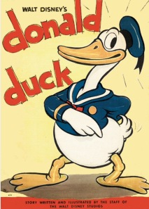 The original Donald Duck Copyright Walt Disney Studios