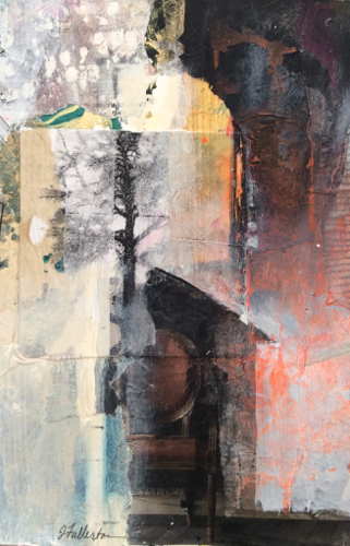 to-sit-in-stillness-mixed-media-collage