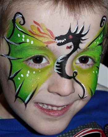 2-dragon-face-painting