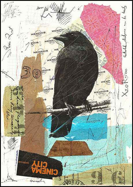 raven-collage-art-abstract-painting-ologeanu-1